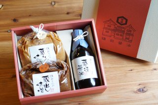 [鎌田醤油]<br>箱入 | 醤油・味噌おまとめセット