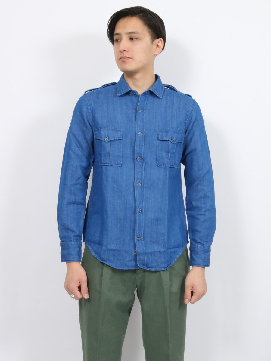 【dickson】<br>ミリタリーシャツ
