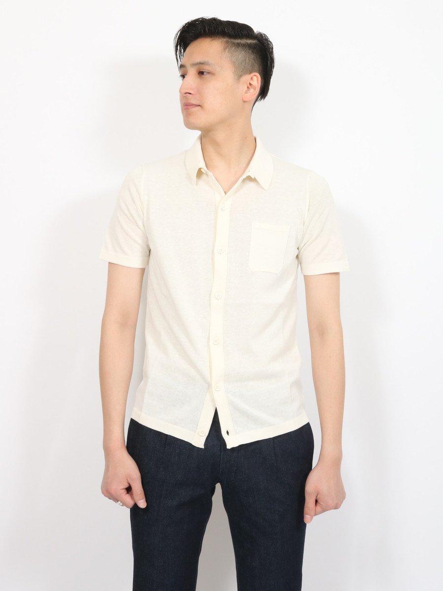 【ROBERTO COLLINA】<br>ニットシャツ