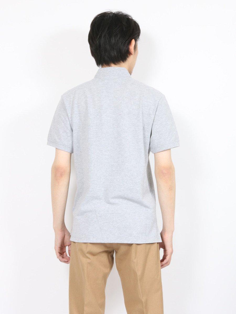 【DANIELE FIESOLI】スタンドカラー鹿の子ポロシャツ