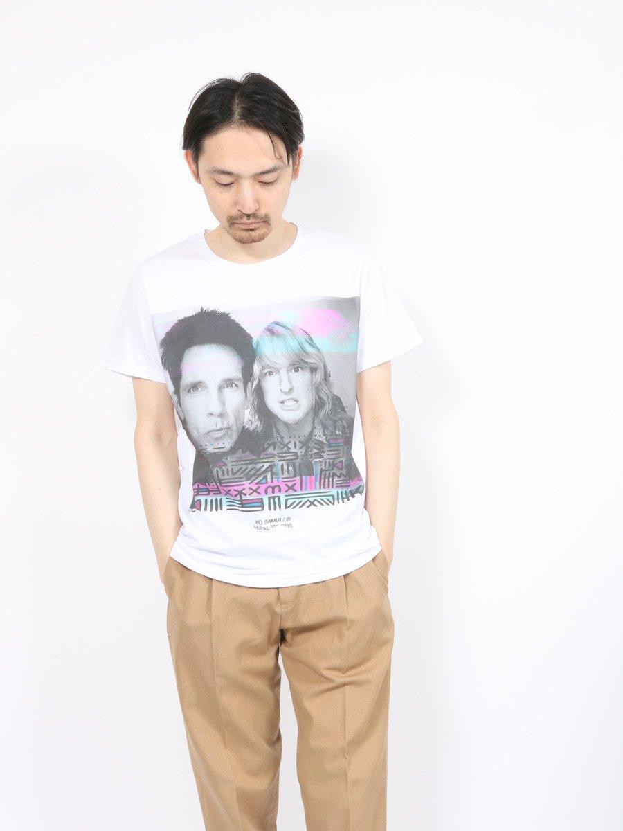【KO SAMUI】<br>ロックTシャツ-ZOO-