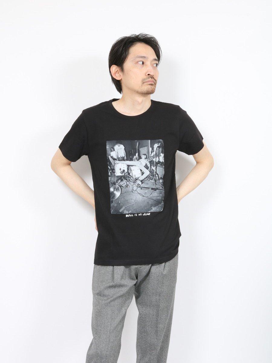 【KO SAMUI】<br>ロックTシャツ-DRUNK-