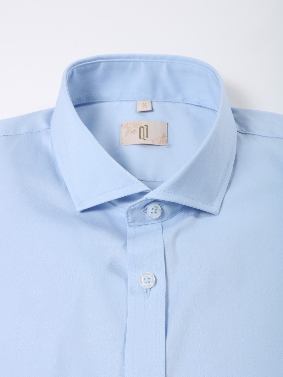 【Q1】セミワイドカラーシャツ