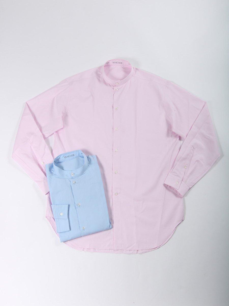 【VANGHER】<br>スタンドカラーシャツ
