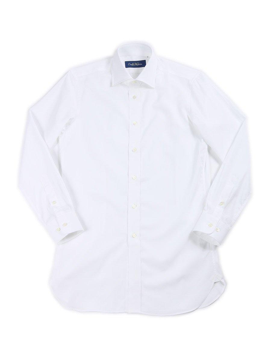 【Cento trenta】<br>ブロードセミワイドカラーシャツ