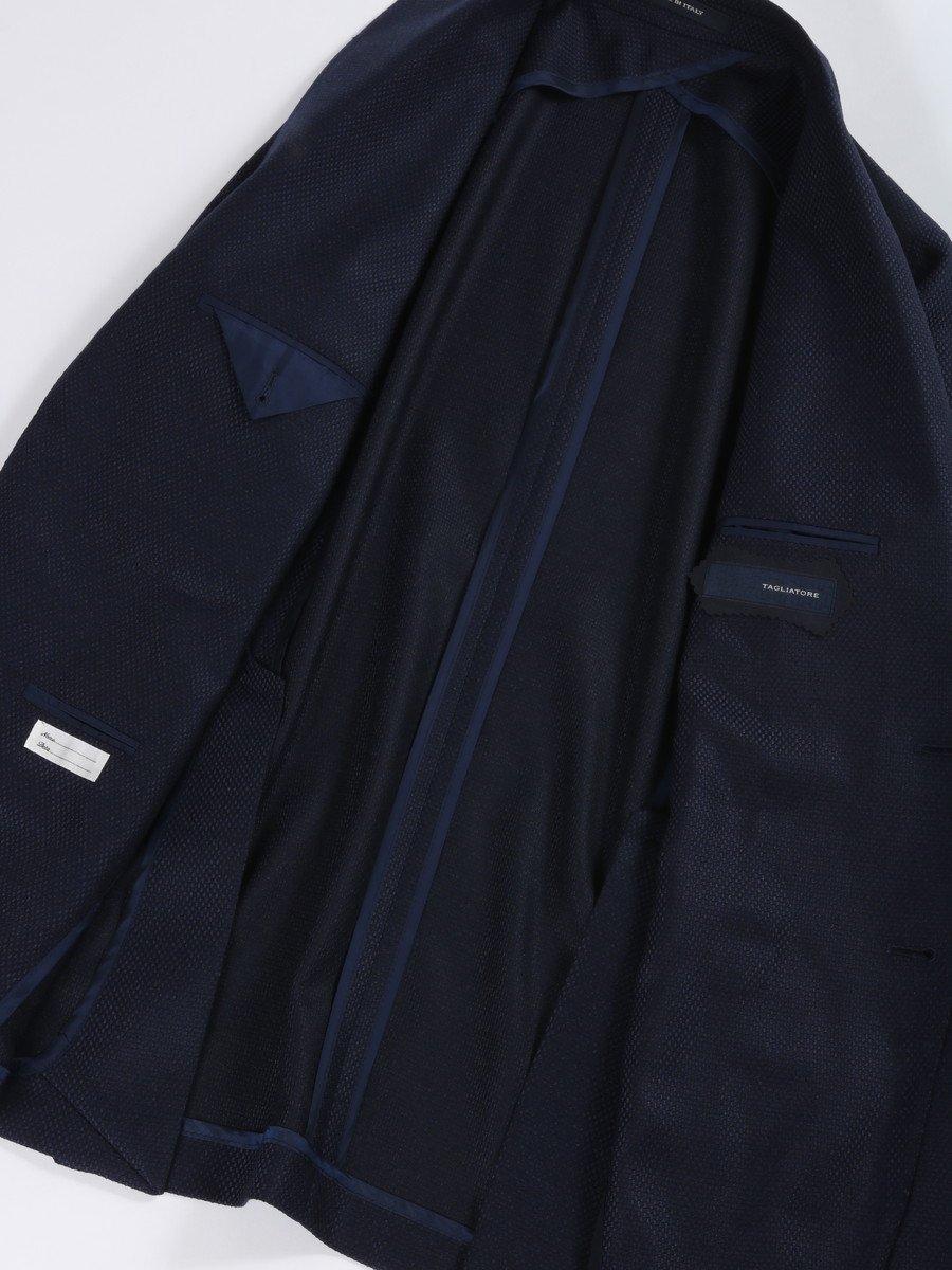 【TAGLIATORE】MONTECARLO ホップサックノッチド2Bジャケット