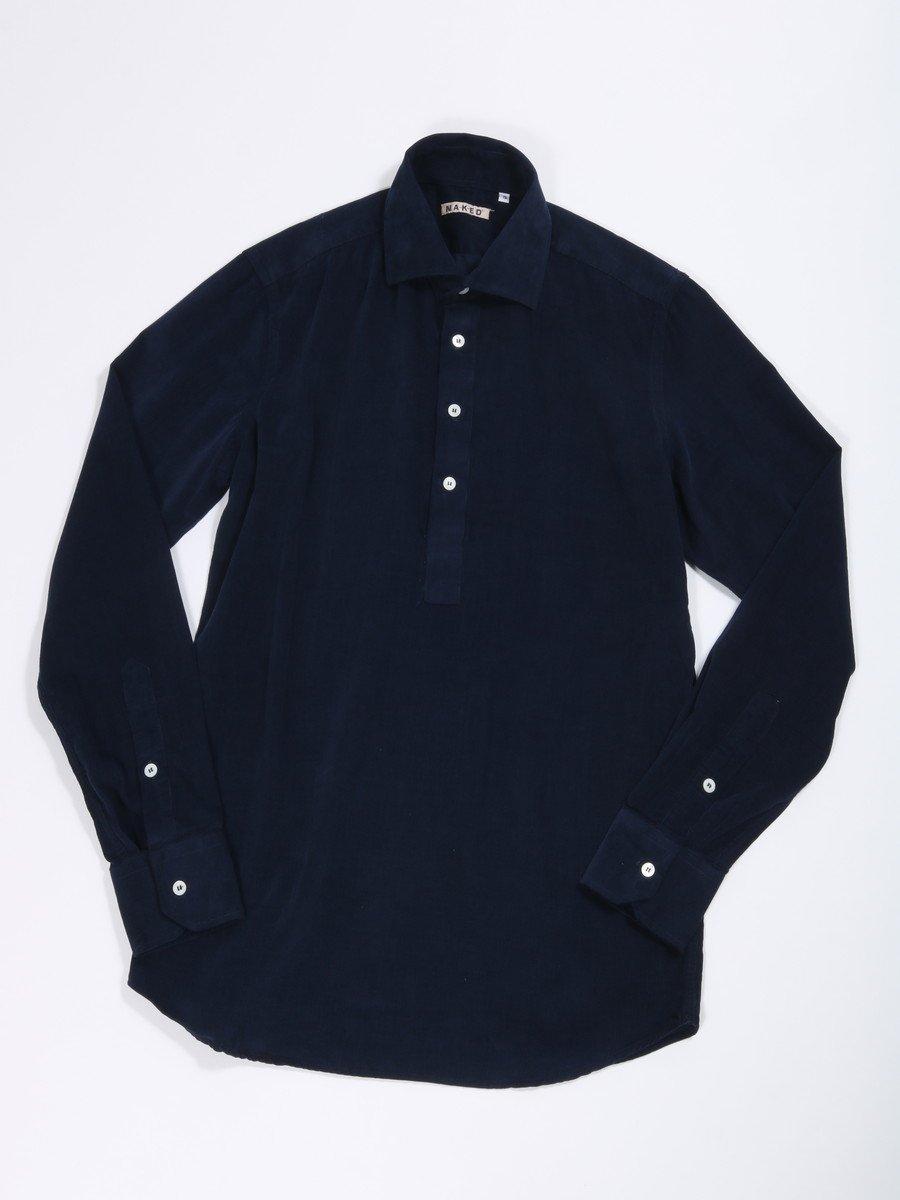 【NAKED】コーデュロイプルオーバーシャツ