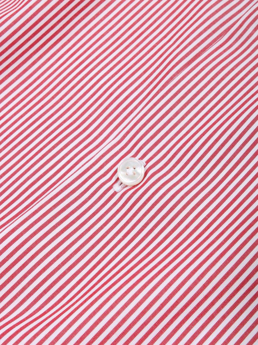 【Fralbo】ストライプレギュラーカラーシャツ