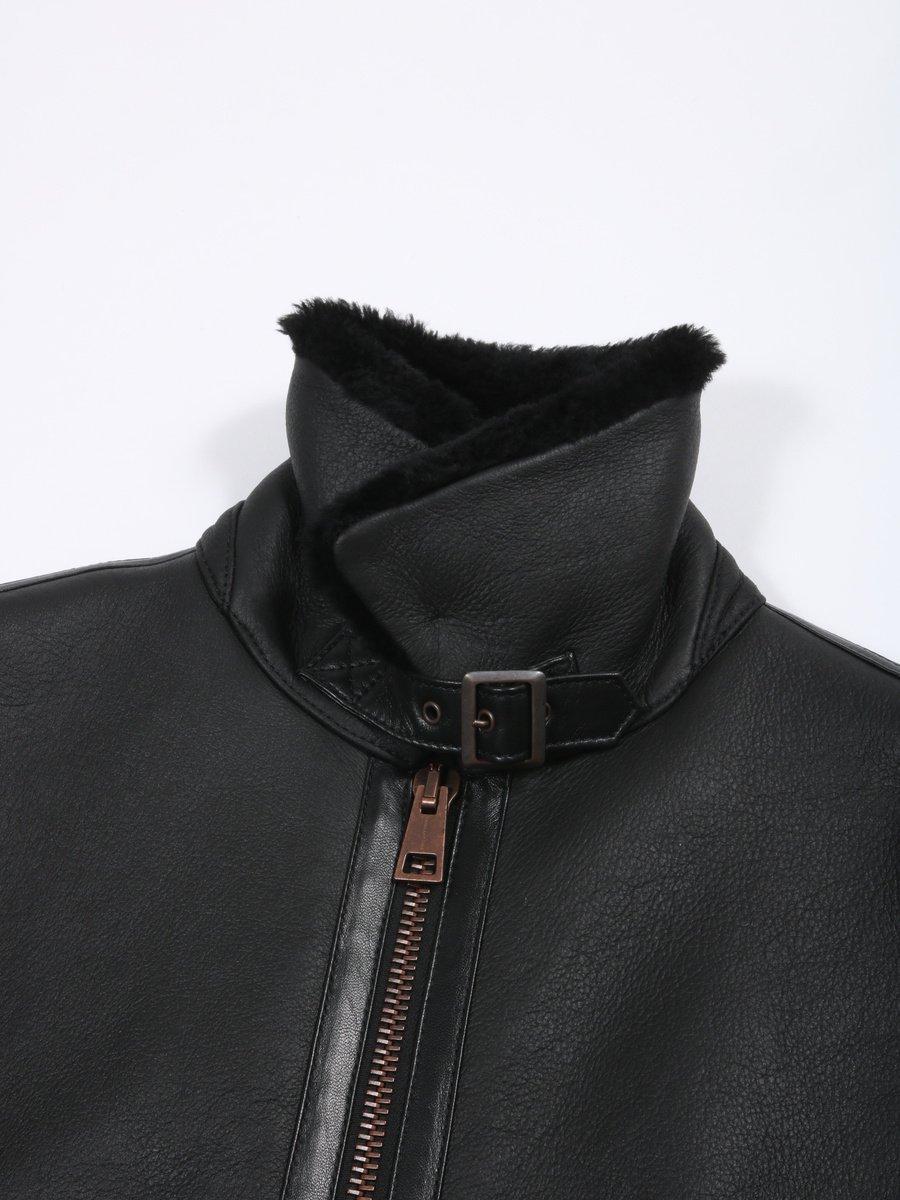 【TAGLIATORE】ムートンフライトジャケット