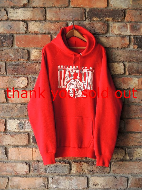 70's~ Artex Sweat parka University of Dayton