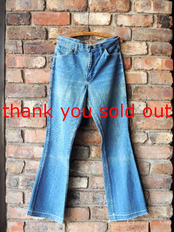 70's~ Maverick 3D75DEN Denim pants W32
