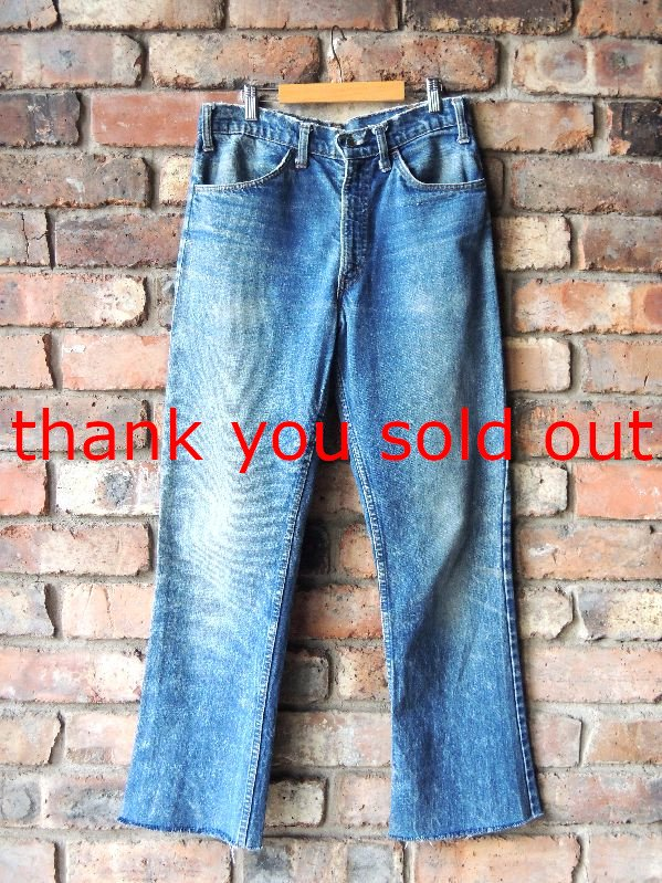 70's Levi's 646 Denim pants W32
