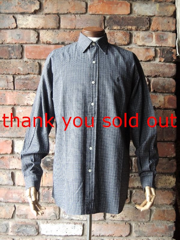 Ralph Lauren Cotton check shirt sizeS