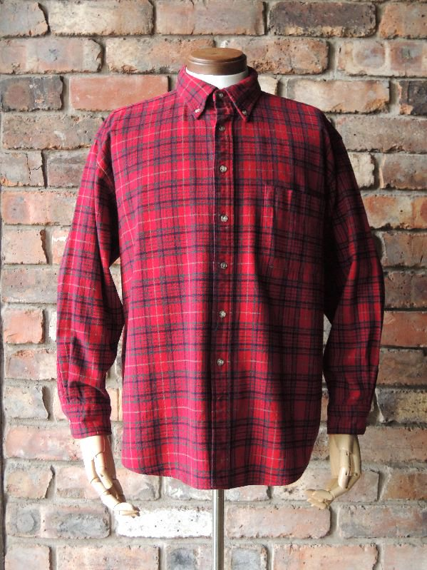 90's Pendleton Wool Check B/D Shirt sizeXL