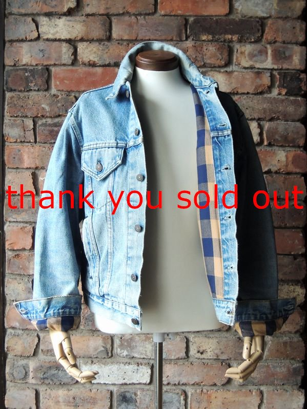 80's Levi's Denim Jacket Flannel Lining