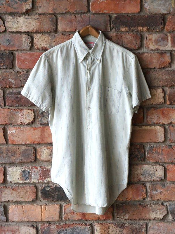〜70's Van Heusen Cotton B/D Stripe Shirt