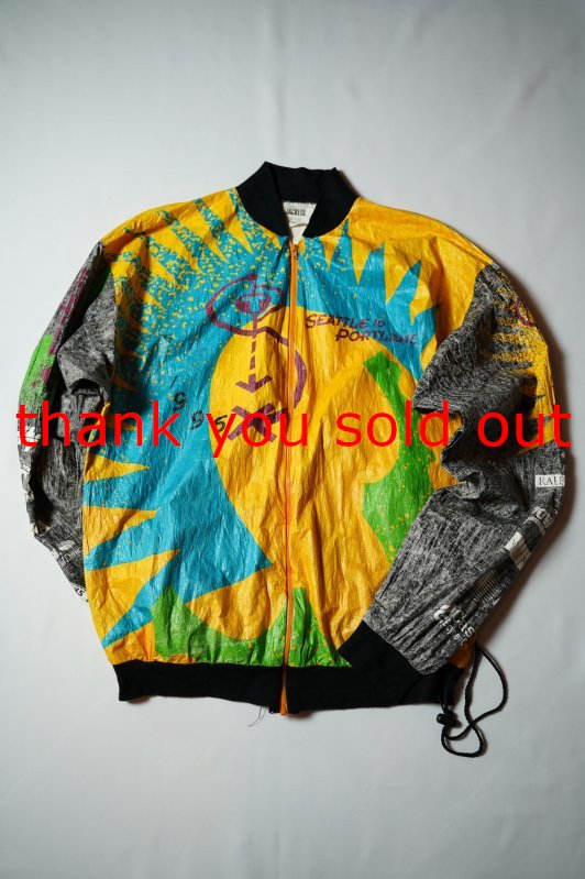 90's Graphin Jackets Paper Jacket seattle to portland
