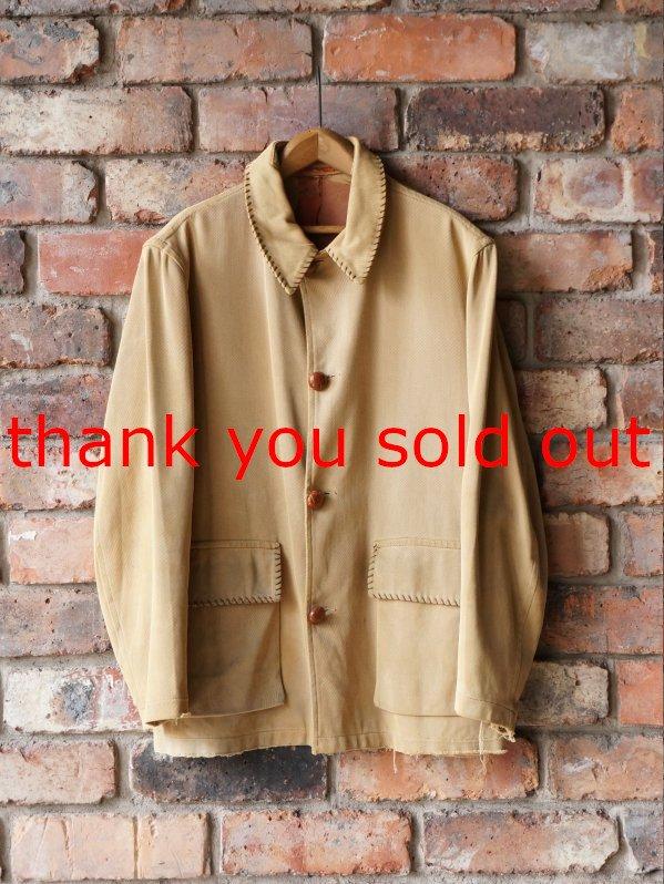 60's Windbreaker Gabardine Tailored Jacket