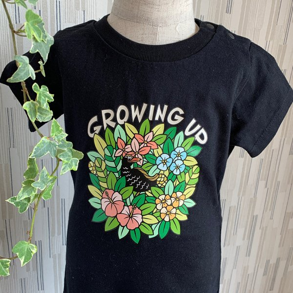 GROWINGUP ロンパース/Kids T-shirts