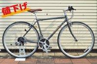 Raleigh RFT クロモリ クロスバイク 700C サイズ 480 グレー 未走行品 2020年モデル
