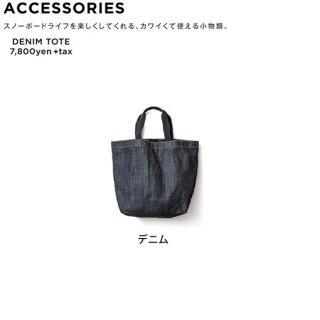 【20-21 予約商品】GREEN CLOTHING グリーンクロージング|DENIM TOTE BAG (トートバッグ)