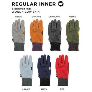 【20-21 予約商品】GREEN CLOTHING グリーンクロージング|REGULAR INNER (インナーグローブ)