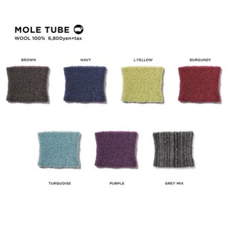 【20-21 予約商品】GREEN CLOTHING グリーンクロージング|MOLE TUBE (ネックウォーマー)