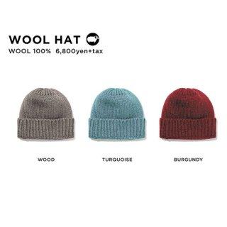 【20-21 予約商品】GREEN CLOTHING グリーンクロージング|WOOL HAT (ニット帽)