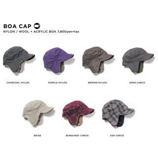 【20-21 予約商品】GREEN CLOTHING グリーンクロージング BOA CAP (フラップキャップ)
