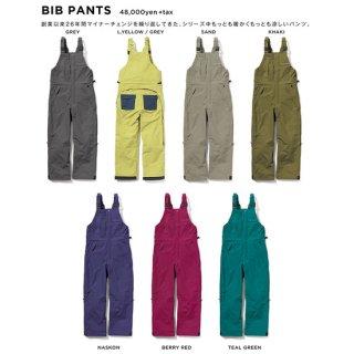 【20-21 予約商品】GREEN CLOTHING グリーンクロージング|BIB PANTS (ビブパンツ)