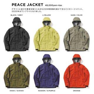 【20-21 予約商品】GREEN CLOTHING グリーンクロージング|PEACE JACKET (ピースジャケット)