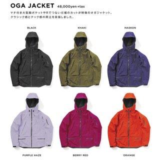 【20-21 予約商品】GREEN CLOTHING グリーンクロージング|OGA JACKET (オガジャケット)