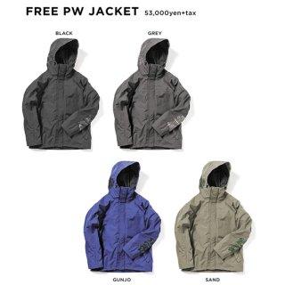【20-21 予約商品】GREEN CLOTHING グリーンクロージング|FREE PW JACKET (フリーパッチワークジャケット)