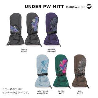 【20-21 予約商品】GREEN CLOTHING グリーンクロージング|UNDER PW MITT (アンダーパッチワークミット)