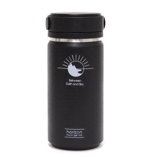 horizon ホライズン |Thermo bottle 350ml (ブラック)(サーモボトル)(保温保冷)