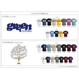 【予約商品 納期7月中旬です】GREEN CLOTHING グリーンクロージング|Tシャツ ご予約受付ページ (プリントTシャツ)