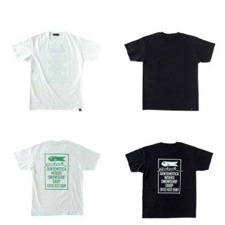 【予約商品 納期8月中旬です】GENTEMSTICK ゲンテンスティック NISEKO SHOP TEE ご予約受付ページ (Tシャツ)