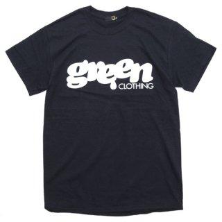 GREEN CLOTHING グリーンクロージング #1 LOGO TEE (ブラック)(プリントTシャツ)