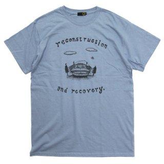 GREEN CLOTHING グリーンクロージング #3 DRIVE TEE (ストーンブルー)(プリントTシャツ)