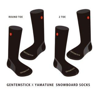 【予約商品 納期11月下旬です】GENTEMSTICK ゲンテンスティック|GENTEMSTICK x YAMAtune SNOWBOARD SOCKS ご予約受付ページ (ソックス)
