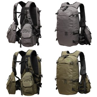 SUBDUED サブデュード|PAVE LOW BACKPACK (単色)(トラウトフィッシング用)(バックパック)(フィッシングベスト)
