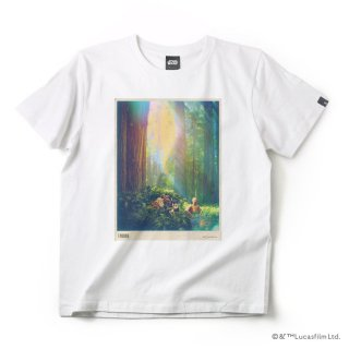 imp. STAR WARS T-SHIRT (ENDOR) ●サイズ:M (ホワイト) :IMP-A32-ENWH-M_T