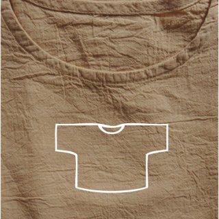 Tシャツ ショート ベージュ