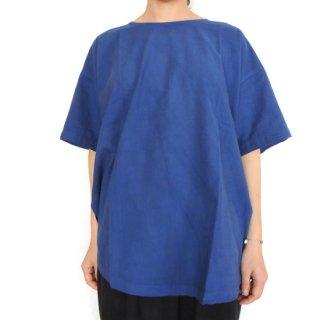 Tシャツ ロング 青