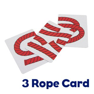 3 Rope Card〜千切れたロープが繋がって!?〜