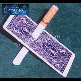 シガレットスルーカード〜Cigarette thru Card〜タバコがトランプをすり抜ける!?大人気貫通マジック☆