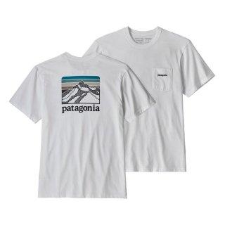 パタゴニア メンズ・ライン・ロゴ・リッジ・ポケット・レスポンシビリティー WHI (XS)