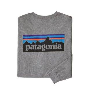 パタゴニア メンズ・ロングスリーブ・P-6ロゴ・レスポンシビリティー  GLH(S)(M)