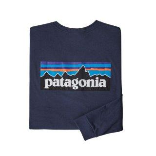 パタゴニア メンズ・ロングスリーブ・P-6ロゴ・レスポンシビリティー  CNY(XS)(S)(M)