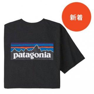 パタゴニア メンズ・P-6ロゴ・レスポンシビリティー BLK(S)(M)